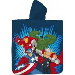 Badeponcho mit Kapuze aus Baumwolle von Avengers