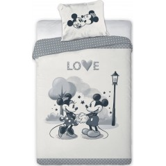 Mickey and Minnie Love bedding set