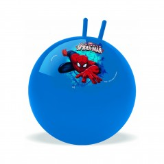 Ball jumper decorated spider-man 50 cm in diameter.