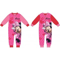 Tuta pigiama pile Minnie Mouse