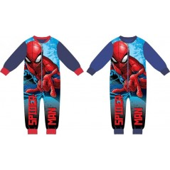 Spider-Man fleece onesie