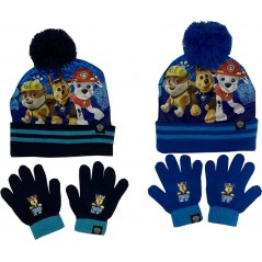 Paw Patrol Sublimation Hat and Gloves Set