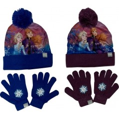 Frozen 2 Disney Sublimation Hat and Gloves Set