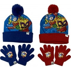 SuperZings Sublimation Hat and Gloves Set