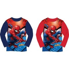 T-shirt a maniche lunghe Spiderman marvel