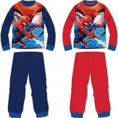 Pyjama Spiderman Baumwolle