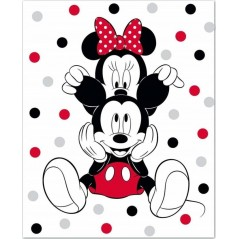 Kocyk polarowy Minnie Disney