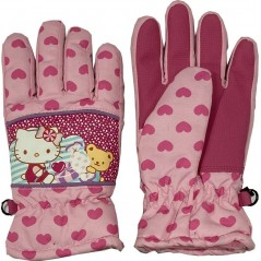 GANTS DE SKI HELLO KITTY -