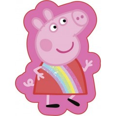 Cuscino forma Peppa Pig