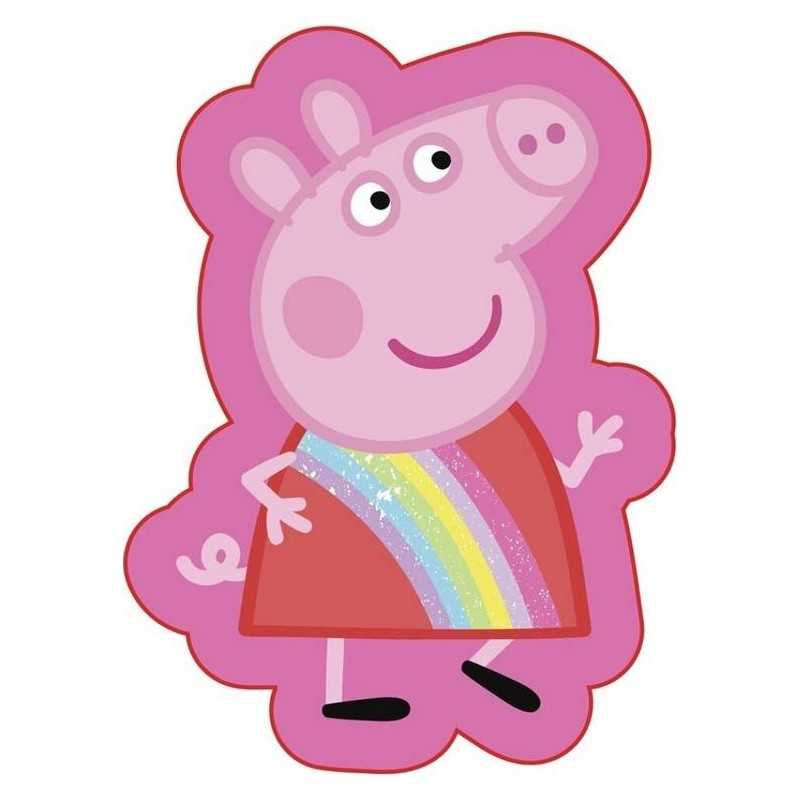 Peppa Pig Shape Cushion