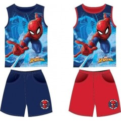 Spiderman Tank Top + Shorts