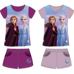 Frozen 2 Disney T-Shirt + Kurzes Set