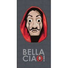 Bella Ciao beach towel or bath towel