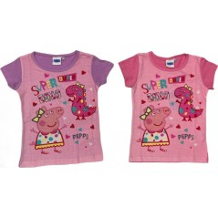 T-shirt manches courtes Peppa Pig