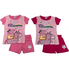Peppa Pig T-Shirt + Kurzes Set