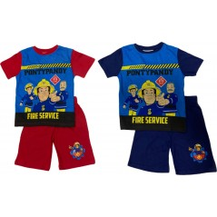 Fireman Sam T-Shirt + Kurzes Set