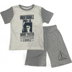 Harry Potter T-Shirt + Kurzes Set