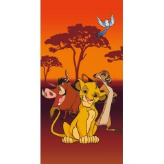 The Lion King Disney beach towel or bath towel