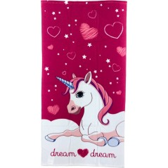 Beach towel Unicorn Cotton