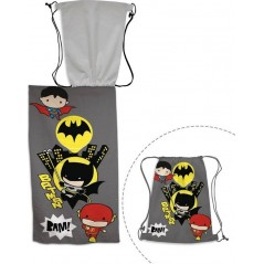 Batman beach towel + Swimming bag