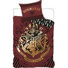 Harry Potter Bettwäscheset - 1 Bettbezug 140x200 + 1 Kissenbezug 63x63cm